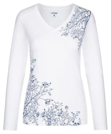 Loap ženska majica Addie, XS, bela