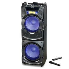 Akai Prenosný reproduktor , 9204499 | DJ-S5H, čierna
