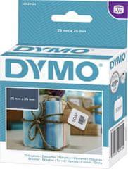 Dymo LW etikete za tiskanje, 25 x 25 mm, bele
