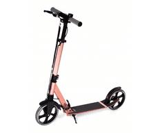 Movino Skládací koloběžka City Comfort+, černá - Antique pink