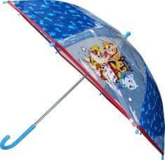 Vadobag Deštník Paw Patrol transparentní 63cm
