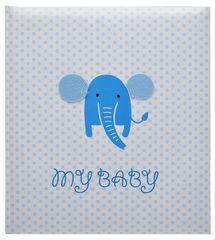 KPH Fotoalbum Baby elefant modré