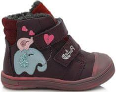 Ponte 20 dievčenská kožená obuv PV120-DA03-1-819