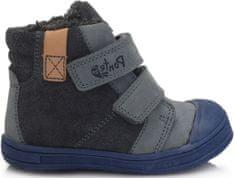 Ponte 20 chlapčenská kožená obuv PV120-DA03-1-263A