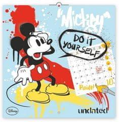 Walt Disney: Mickey Mause omalovánkový poznámkový - nástěnný kalendář