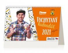 Kalendář 2021 stolní: Vychytávky Ládi Hrušky, 226x139