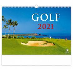 Kalendář 2021 nástěnný Exclusive: Golf, 485x340