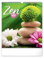 Kalendář 2021 nástěnný: Zen, 30 × 34 cm