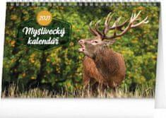 Kalendář 2021 stolní: Myslivecký, 23,1 × 14,5 cm