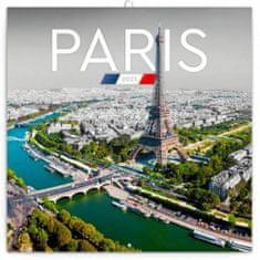 Kalendář 2021 poznámkový: Paříž, 30 × 30 cm