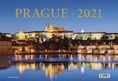 Kalendář stolní 2021 - Prague 13,5 x 19,7 cm