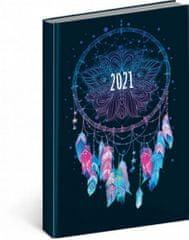 Diář 2021: Cambio Fun - Lapač snů - denní, 15 x 21 cm