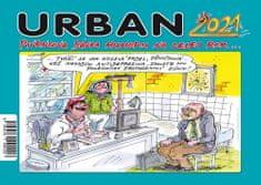 Petr Urban: Urban Pivrncova dávka humoru na celej rok 2021 - stolní kalendář