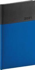 Diář 2021: Dado - modročerný - kapesní, 9 × 15,5 cm