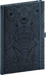 Diář 2021: Vivella Fun - slon - týdenní, 15 × 21 cm