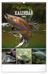 Kalendář 2021 nástěnný: Rybářský, 33 × 46 cm