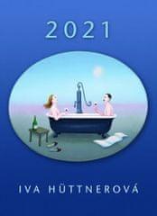 Iva Hüttnerová: Kalendář 2021 - Iva Hüttnerová/nástěnný