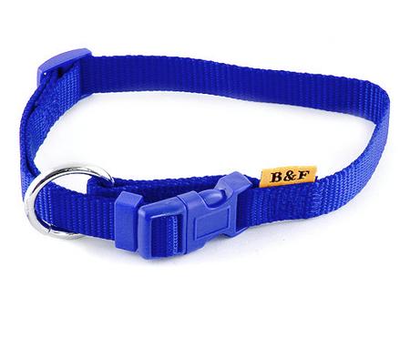 BAFPET ovratnica za pse, modra, vel L