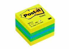 3M 2051-L Post-it kocka Lemon, samolepilni lističi, 51x51
