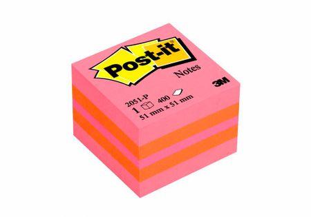 Post-It 2051-P Post-it kocka Pink, samolepilni lističi, 51x51