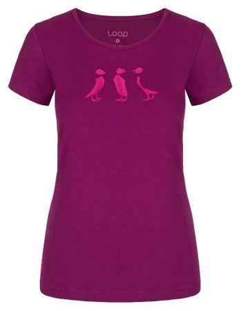 Loap ženska majica Adrin, S, vijolična