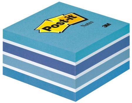 Post-It 2028-B Post-it kocka Aqua, samolepilni lističi, modri