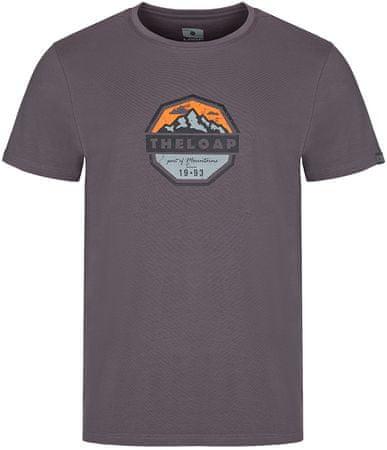 Loap moška majica Altair, L, siva