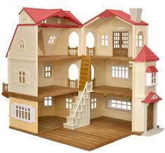Sylvanian Families zestaw podarunkowy - duża rezydencja z czerwonym dachem