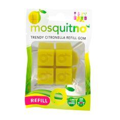 MosquitNo Újratölthető Citronella Spongya GOM 4db, Refill Sponge GOM