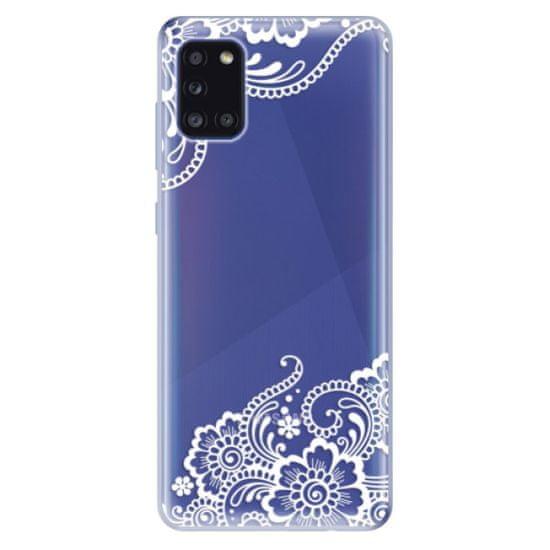 iSaprio Silikonové pouzdro - White Lace 02 pro Samsung Galaxy A31