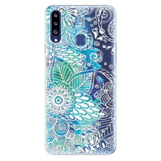iSaprio Silikónové puzdro - Lace 03 pre Samsung Galaxy A20s