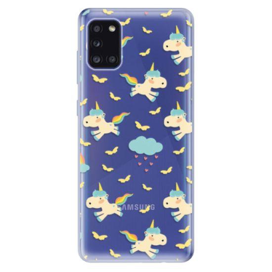 iSaprio Silikónové puzdro - Unicorn pattern 01 pre Samsung Galaxy A31