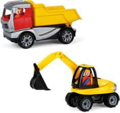 LENA građevinski komplet Kamion i kopač