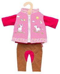 Heless Jazdecký oblek pre bábiku 35-45 cm
