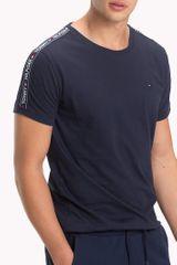 Tommy Hilfiger temno modra moška majica RN Tee SS - S