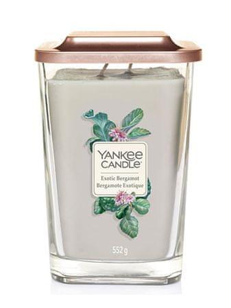 Yankee Candle dišeča sveča Elevation Exotic Bergamot kvadratna velika 2 stenja