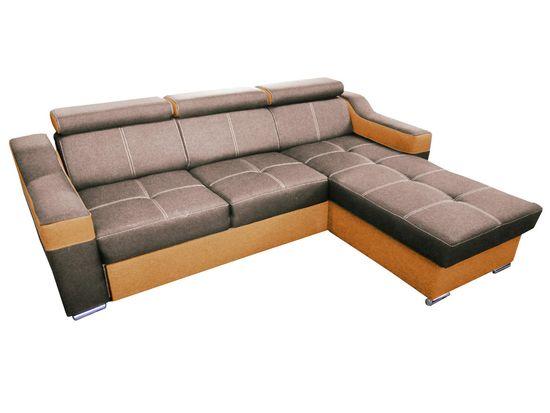 Importworld Rohová sedací souprava Lineteca II OT2F - lux 05 / soft 31 (barva potahu) - univerzální