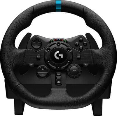 Herný volant Logitech G923 PS (941-000149) PC PS4 PS5 ovládacie prvky oceľ koža