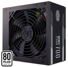 Cooler Master MWE White punjač, 700 W, ATX