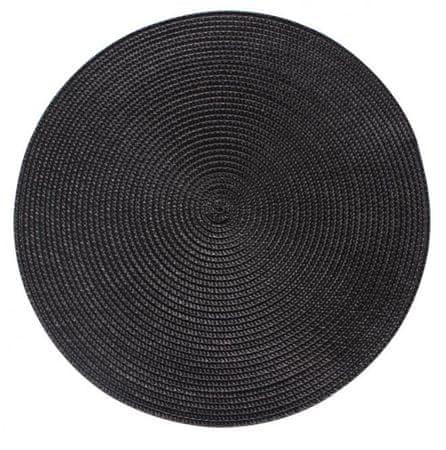 My Best Home podkładki SPLOT, Ø 38 cm, 4 szt., czarne