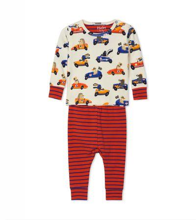 Hatley fantovska pižama, 69-74, rdeča