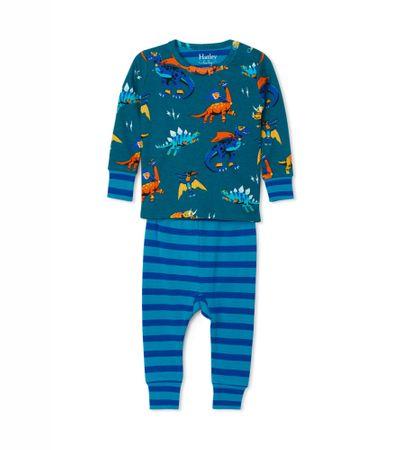 Hatley piżama chłopięca, niebieska 69-74