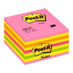 Post-It kocka 2028-B LOLLIPOP, pink