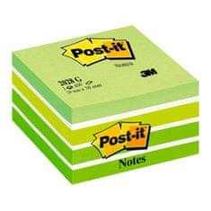Post-It kocka 2028-G AQUA, zelena