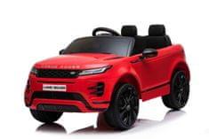 Beneo Elektrické autíčko Range Rover EVOQUE, Jednomiestne, Kožené sedadlá, MP3, USB/SD