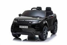 Beneo Range Rover EVOQUE elektromos kisautó, együléses, bőr ülés, MP3 lejátszó USB/SD