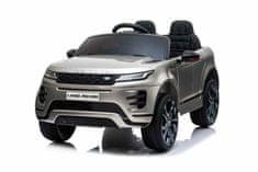 Beneo Elektrické autíčko Range Rover EVOQUE, Jednomiestne, Kožené sedadlá, MP3, USB/SD, lakované