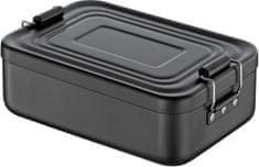 Cilio Svačinový box, aluminium, černý matný