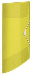 """Esselte Desky s gumičkou """"Colour'Ice"""", žlutá, 15 mm, PP, A4 626220"""