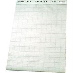 Esselte Flipchart blok, papír bílý - s mřížkou, 60x85 cm, 50 listů